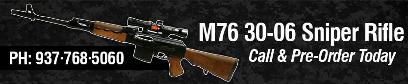 M76 30-06 Sniper Rifle